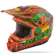 Шлем детский KINETIC JUNGLE (оранжевый)