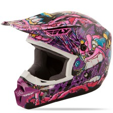 Шлем детский KINETIC JUNGLE (фиолетовый)